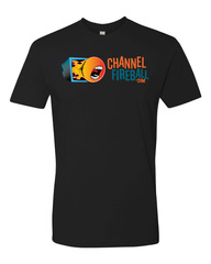 ChannelFireball T-Shirt - Black on Channel Fireball