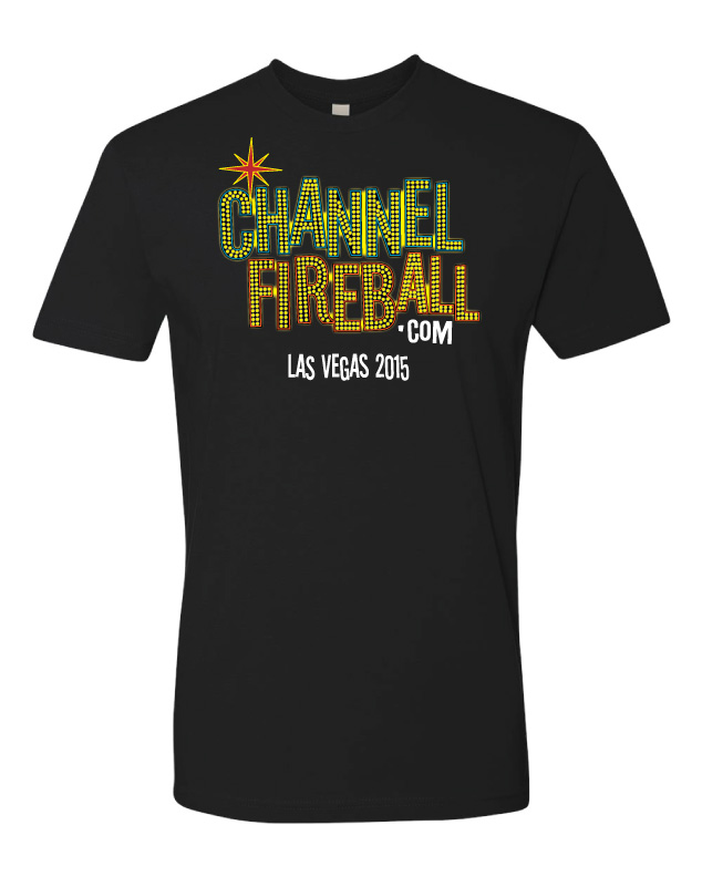 Grand Prix Las Vegas 2015 T-Shirt - Neon Lights