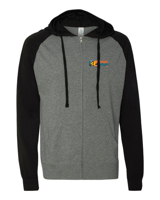 ChannelFireball Zip-up Hoodie (Lightweight) - Gray