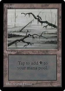 Swamp (Dark Grey Foreground)