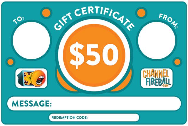$50 Gift Certificate [Digital]