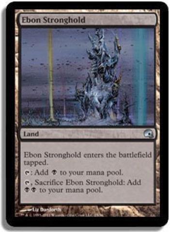 Ebon Stronghold - Foil
