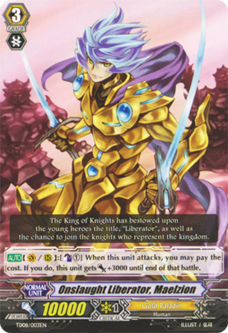Onslaught Liberator, Maelzion - TD08/003EN