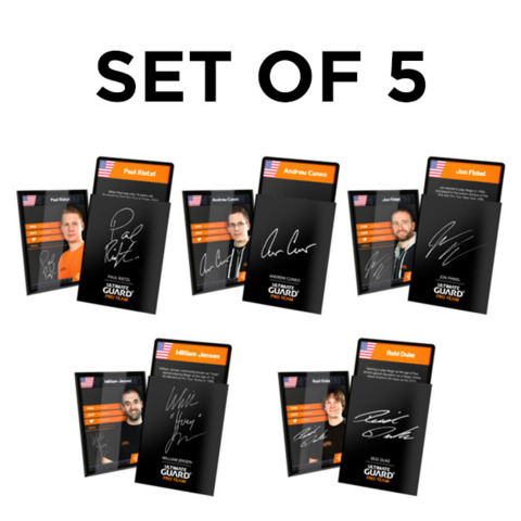 Ultimate Guard Pro Team Sleeves - Set of 5 (100 ct.)