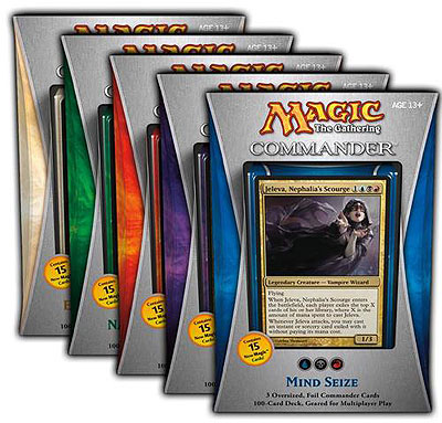 Commander 2013: Set of Five