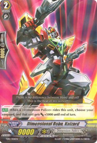 Dimensional Robo, Kaizard TD12/006EN