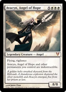 Avacyn, Angel of Hope Oversized Helvault Promo