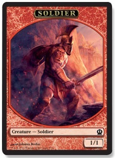 Soldier Token (Red)