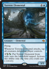 Torrent Elemental on Channel Fireball