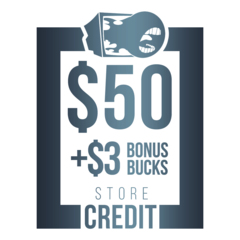 $53 Store Credit [CASH ONLY]