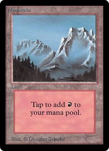 Mountain (Light Blue Sky/Snow)