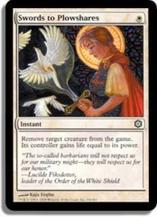 Swords to Plowshares on Channel Fireball