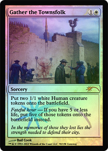 Gather the Townsfolk (WPN Foil)