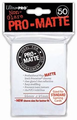 Ultra PRO Pro-Matte Sleeves - White (50 ct.)