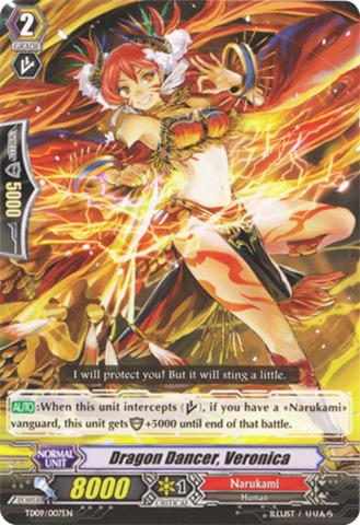 Dragon Dancer, Veronica - TD09/007EN
