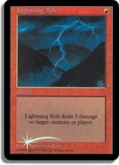 Lightning Bolt (Judge Foil)