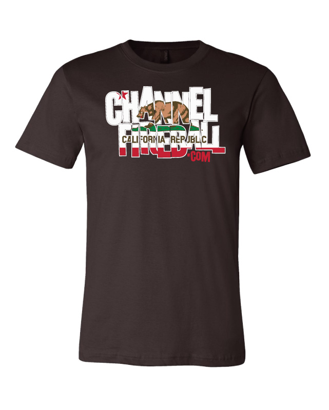 ChannelFireball T-Shirt - California