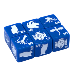 Monster Rocks - Token Dice (Blue - Pack of 6)