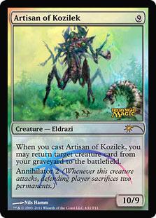Artisan of Kozilek (FNM Foil)