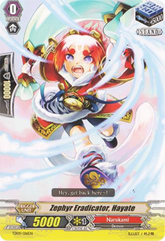 Zephyr Eradicator, Hayate - TD09/016EN