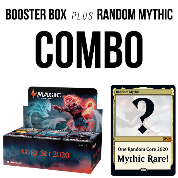 Core Set 2020 Booster Box + Random Mythic Rare