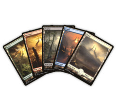 Hour of Devastation Assorted Full Art Basic Lands (100 ct. Lot)