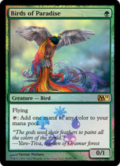 Birds of Paradise (Magic 2011 Buy-a-Box Promo) on Channel Fireball