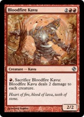 Bloodfire Kavu on Channel Fireball