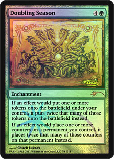 Doubling Season (Judge Foil)