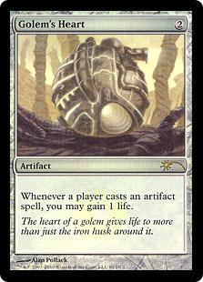 Golem's Heart (WPN Foil)
