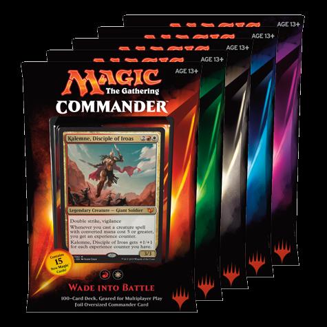 Commander 2015: Set of Five