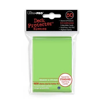 Ultra Pro Sleeves - Lime Green (50 ct.)