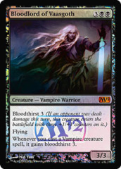 Bloodlord of Vaasgoth (Magic 2012 Prerelease Foil)