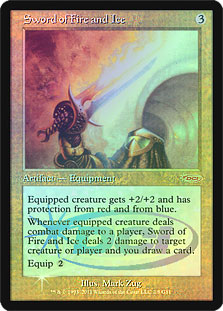 Sword of Fire and Ice (Judge Foil)