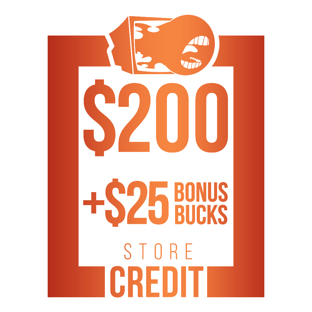 $225 Store Credit [CASH ONLY]