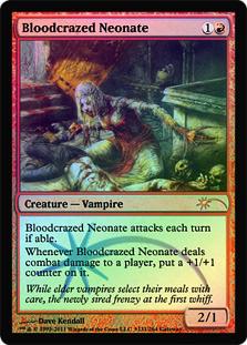 Bloodcrazed Neonate (WPN Foil)