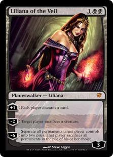 Liliana of the Veil - Foil