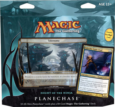 Planechase 2012 Game Pack: Night of the Ninja