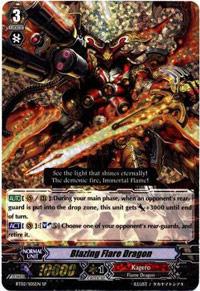 Blazing Flare Dragon - BT02/S05EN - SP