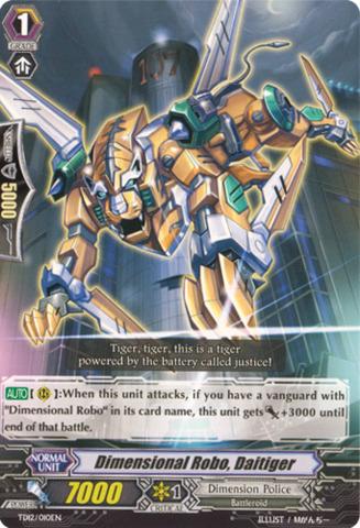 Dimensional Robo, Daitiger TD12/010EN
