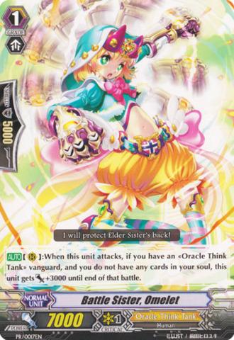 Battle Sister, Omelet - PR/0017EN