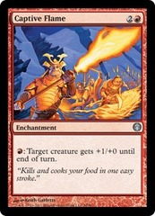 Captive Flame on Channel Fireball