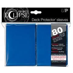 Ultra Pro - Sleeves: PRO-Matte Eclipse Standard Deck Protector Sleeves Blue