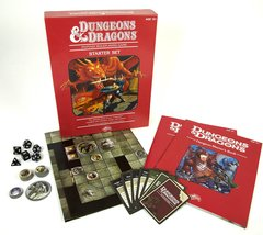 Dungeons & Dragons Roleplaying Game: An Essential D&D 4e Starter (Dinged Box)