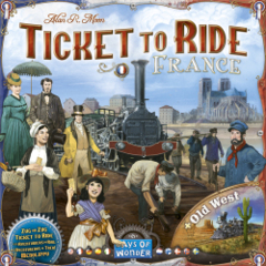 Ticket to Ride Map Collection Volume 6 - France and Old West