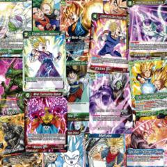 Dragon Ball Super TCG Premium 100 Card Union Force Lot Foil Rares