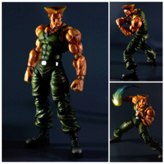 Guile Play Arts Action Figure