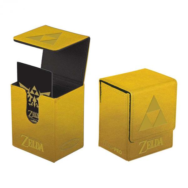 Ultra Flip Box : The Legend Of Zelda - Gold Tri-Force