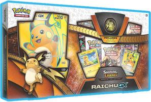 Pokemon Shining Legends Raichu Gx Box