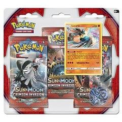 Pokemon Crimson Invasion 3 Pack Blister - Lucario